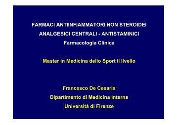 MORFINO-SIMILI - Medicina e Chirurgia