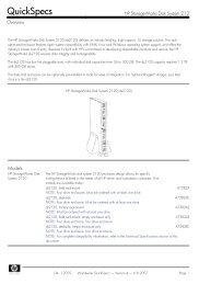 HP StorageWorks Disk System 2120