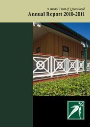 NTQ Annual Report 2011 pdf - National Trust of Australia
