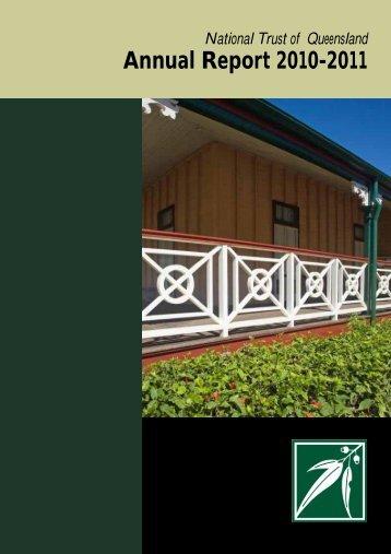 NTQ Annual Report 2011 pdf - National Trust of Australia