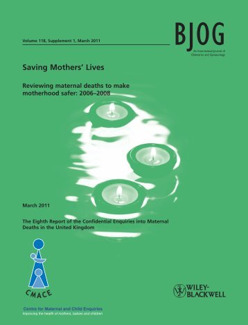Saving Mothers Lives: Reviewing maternal deaths to make ... - HQIP