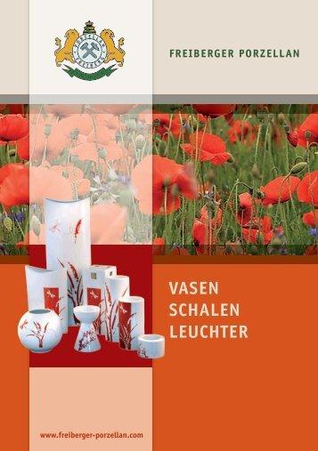 VASEN SCHALEN LEUCHTER - Freiberger Porzellan