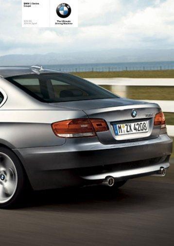 The BMW 3 Series 320i Coupé - Vines