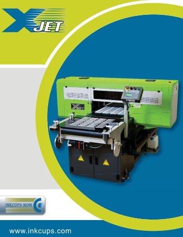 xjet-impresora de inyeccion de tinta industrial - Inkcups Now