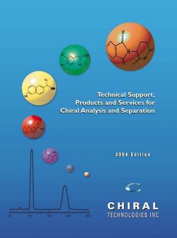 Chiral Technologies (Daicel) Catalogue 2004