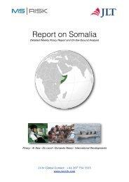 Report on Somalia (July 1 - 7, 2013) - JLT
