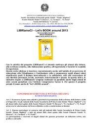 LIBRIamoCI – Let's BOOK around 2013 - dante alighieri'' - varese