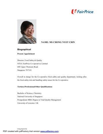 Chong Nyet Chin