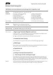 Sitzung 3/08 vom 16.09.08 - Departement Bau, Umwelt und Geomatik