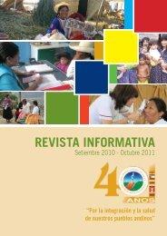 Descargar publicación - Organismo Andino de Salud