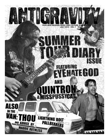 July 2010 (PDF) - Antigravity Magazine