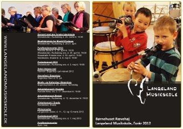 Musikskolefolder til børnehaven Rævehøj 12-13, 070312