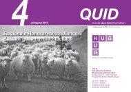 Quartalsinformation Nr. 4 Jahrgang 2012 - H.U.G ...
