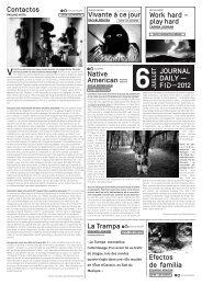 6 juillet 2012 - Festival international du documentaire de Marseille