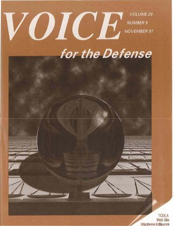Women's Issues in - Voice For The Defense Online