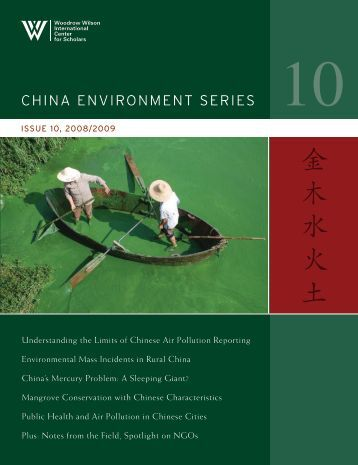 China EnvironmEnt SEriES - Health Effects Institute