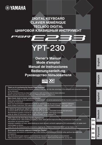 17190KB - Yamaha