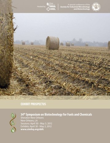EXHIBIT PROSPECTUS 34th Symposium on Biotechnology for ...