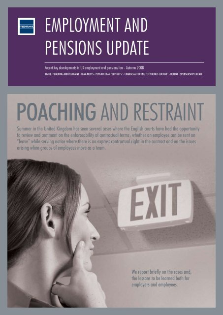 Employment and Pensions Update - Fried Frank