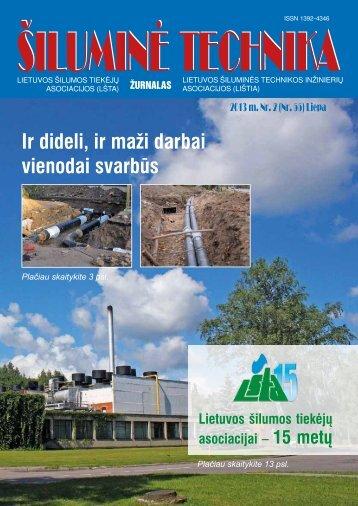 Šiluminė technika.pdf - Lietuvos šilumos tiekėjų asociacija (LŠTA)