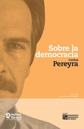 Sobre la democracia - Instituto Electoral y de Participación ...