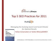 Top 5 SEO Practices for 2011