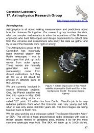 17. Astrophysics Research Group