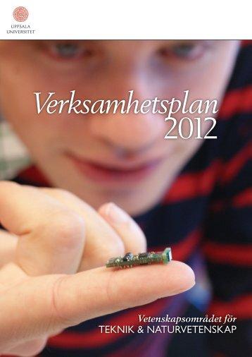 Verksamhetsplan 2012 - Teknisk-naturvetenskapliga fakulteten ...