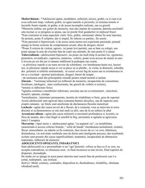 caiet modul 2 - Societatea Română de Homeopatie