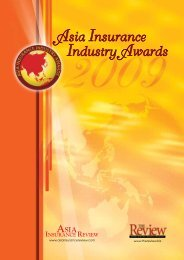Asia Insurance Industry Awards - Middle East Insurance Review