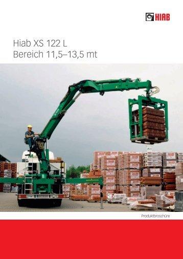 Hiab XS 122 L Bereich 11,5–13,5 mt - HEBA Ladekrane