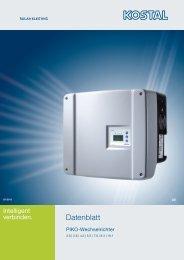 Datenblatt PIKO 10.1 - Solar-Fabrik AG