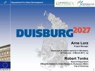 GPE 10 Citizen´s Forums -Duisburg 2027 - EU2020 Going Local