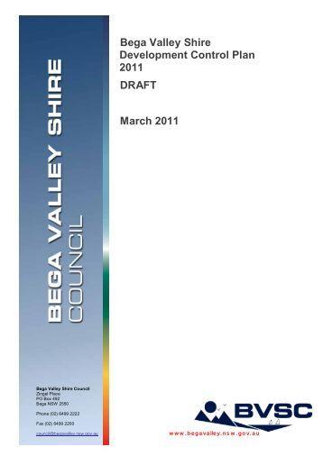 Development Control Plan No.4 - Bega Valley Shire Council