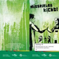 Informationen für Eltern - Aktionstage auf DFB Mini-Spielfeldern - DFB