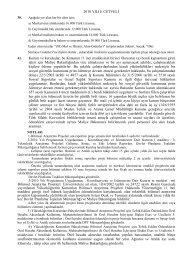 2010 YILI E CETVELİ Kurum ve kuruluşlar, bu Kanunun 11 inci ...