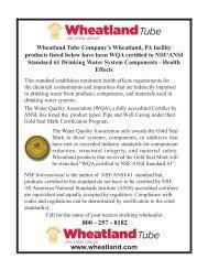 Download this Brochure - Wheatland Tube