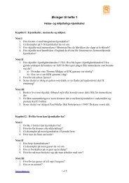 Kapittel 1: Kjemikalier, menneske og miljøet - Reduce