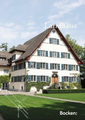 Landhaus - Bocken