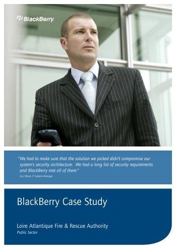 BlackBerry Case Study