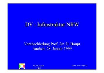 DV - Infrastruktur NRW