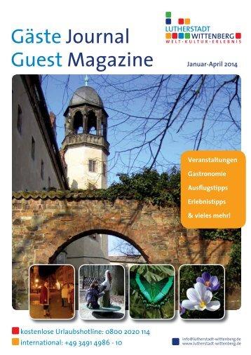 Januar bis April 2014 (PDF) - Urlaub Lutherstadt Wittenberg