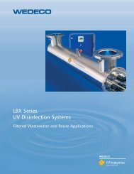 LBX Series UV Disinfection Systems - Water Solutions