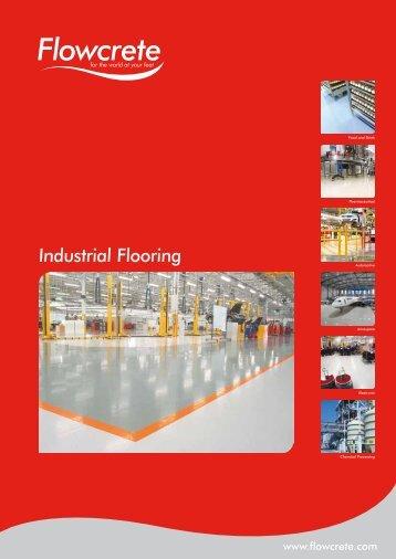 Industrial Flooring Brochure - Clarke Contracts