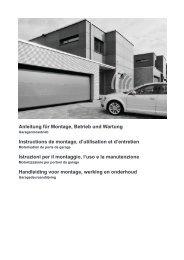 warnung! - Motorisation Plus
