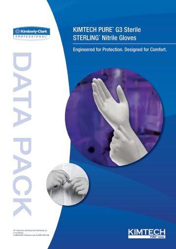 KIMTECH PURE* G3 Sterile STERLING* Nitrile Gloves