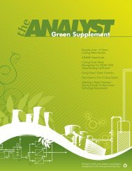 Green Supplement - Eltron Water Systems