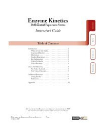 Enzyme Kinetics Instructor Guide.pdf - MIT Teaching and Learning ...