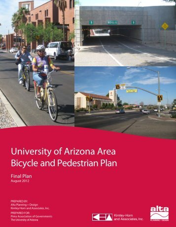 University of Arizona Area Bicycle and Pedestrian Plan