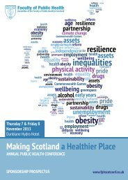 clicking here - Making Scotland a Healthier Place